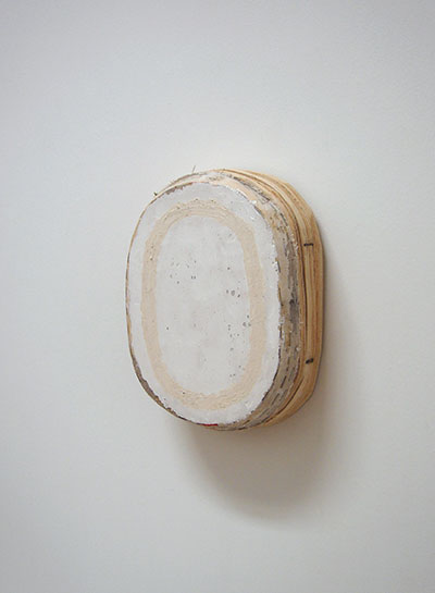 Otis Jones, Two Ovals, 2014. Courtesy of the artist and Holly Johnson Gallery.