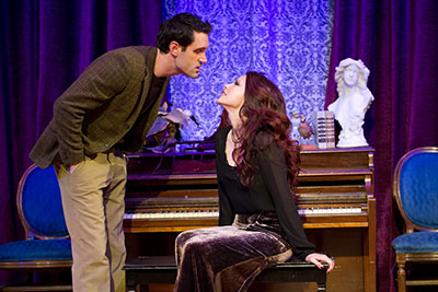 HR Bradford and Christie Stryk in Mildred Umbrella's production of John Harvey's Rome. Photo by VP Arizpe.