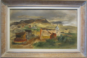 Yasuo Kuniyoshi, Nevadaville, 1942. Virginia Museum of Fine Arts. Photo: Devon Britt-Darby