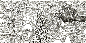 Trenton Doyle Hancock: Skin and Bones, 20 Years of Drawing