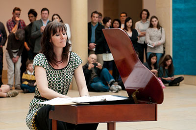 From the John Cage tribute, SoundSpace: MUSICIRCUS in February 2012. Photo Courtesy Blanton Museum of Art.