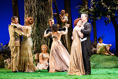 Houston Grand Opera's production of A Little Night Music. Photo by Lynn Lane.