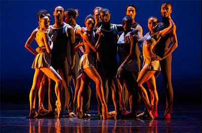 Dance Theatre of Harlem in Return.  Photo by Matthew Murphy.