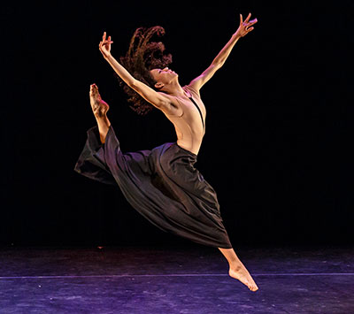 Former Ballet Austin II dancer Tanya Garcia in Thrace, by Nick Kepley. Photo by Tony Spielberg.