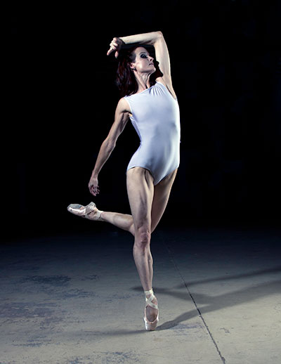 Michelle Gifford of Avant Chamber Ballet. Photo by Edwin Watson.