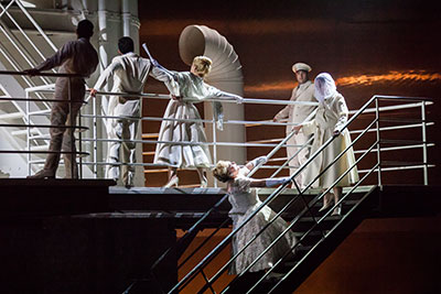 Houston Grand Opera performs The Passenger as part of the Lincoln Center Festival on July 10-13.  Photo by Lynn Lane.