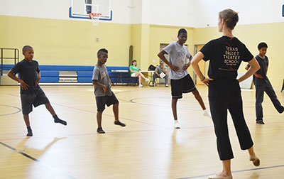 Texas Ballet Theater's CityDance Outreach Education Program. Photo courtesy of Texas Ballet Theater.