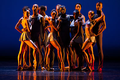 Dance Theatre of Harlem performs at Miller Outdoor Theatre on July 23. Photo by Matthew Murphy.