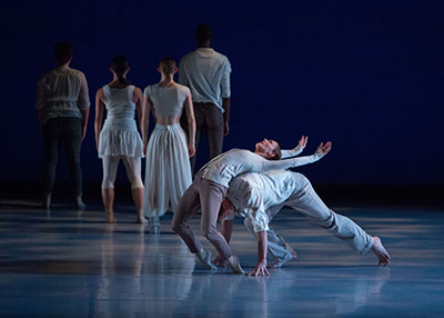 MET Dance in Lauren Edson's After the Rain. Photo by Ben Doyle.