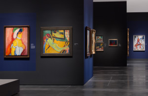 Installation view, Expressionism in Germany and France: From Van Gogh to Kandinsky On view through Sept. 14 at the Los Angeles County Museum of Art  Photo © Museum Associates/LACMA