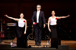 SPA presents Ira Glass, Monica Bill Barnes and Anna Bass in Three Acts, Two Dancers and One Radio Host on Sept. 20. Photo by Ebru Yildiz.