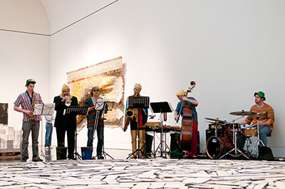 SoundSpace: MUSICIRCUS in February 2012. Photo of  Courtesy of the Blanton Museum of Art.
