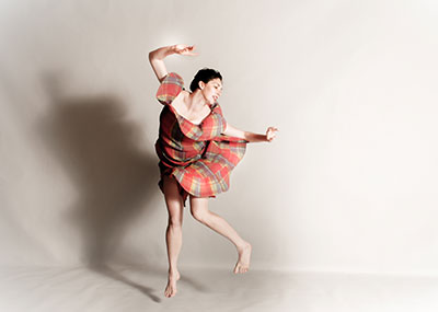 Amy Diane Morrow in The Lady Of.  Photo by Rachel Bruce Johnson.
