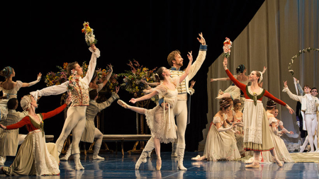 Houston Ballet Soars in John Neumeier's Otherworldly Midsummer Night's Dream