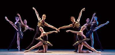 Artists of Houston Ballet in Jorma Elo's ONE/end/ONE