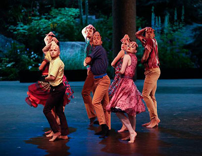 BalletX in Joshua Peugh's Slump. Photo by Erin Baiano.