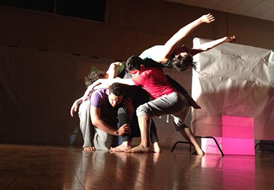 SPAREWORKS  Dance Company in Taken in Arms Photo by Fabiola Torralba.