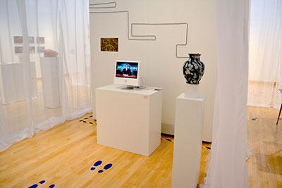 Breaking News Installation, Sue Anne Rische, Photo Courtesy of Sue Anne Rische