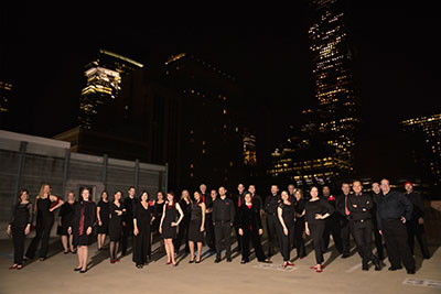 Houston Chamber Choir Photo by Jeff Grass.