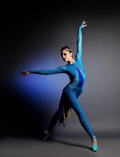 Rachel Meador of Avant Chamber Ballet Photo by Brian Guilliaux.