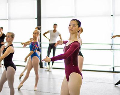Ballet Austin Butler Fellow Abby Chen Photo by Holland Angel.