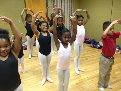 Ballet San Antonio's Project Plie Photo courtesy of Ballet SA.