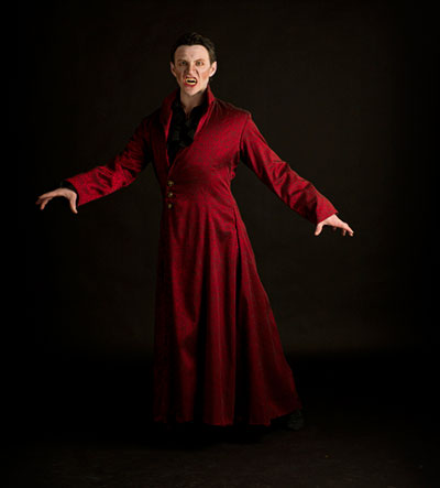 Ian Morris in Ballet San Antonio's production of Dracula, Oct. 16-19 at the Tobin Center. Photo by Alexander Devora.