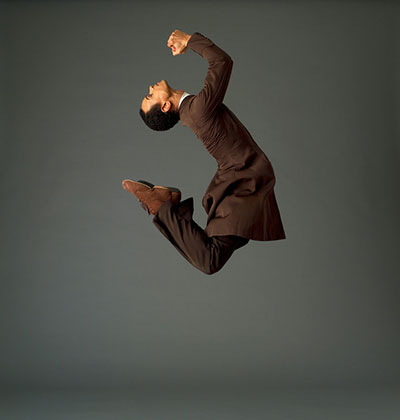 Christophe Jeannot (Preacher) in Appalachian Spring. Photo by John Deane.