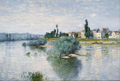 Claude Monet, The Seine at Lavacourt, 1880, oil on canvas, Dallas Museum of Art, Munger Fund