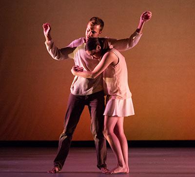 Dark Circles Contemporary Dance in Joshua L. Peugh's Marshmallow Photo by Amitava Sarkar.