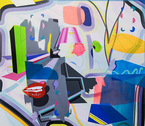 UPFRONT > Danny Rolph's Paradiso at Barbara Davis Gallery