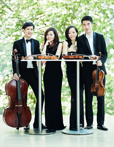Rolston String Quartet Photo by Tianxiao Zhang.