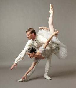 Leticia Oliviera and Carl Coomer in Ben Stevenson's The Sleeping Beauty. Photo by Steven Visneau.