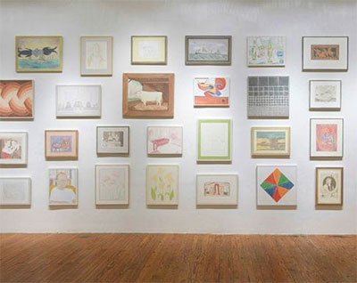 Francesca Fuchs, (Re)Collection: Paintings of Framed Paintings, Prints and Photos, Texas Gallery, Houston, Texas