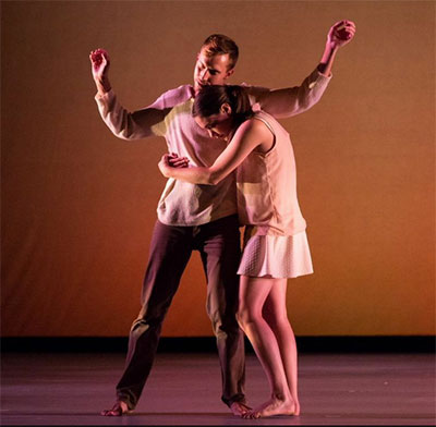 Dark Circles Contemporary Dance in Joshua L. Peugh's Marshmallow. Photo by Amitava Sarkar.