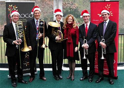 Ilan Morgenstern, Thomas Hulten, Gavin Reed, Alecia Lawyer, Logan Kavanaugh and George Chase of ROCO. Photo by Teri Golas.