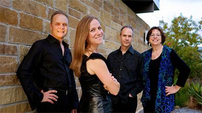 SOLI Chamber Ensemble: Stephanie Key-clarinet, Carolyn True-piano, Ertan Torgul-violin, and David Mollenauer-cello. Photo by Jason Murgo