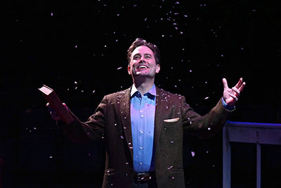Martin Burke in The ZACH Theatre production of This Wonderful Life. Photo by Kirk Tuck.