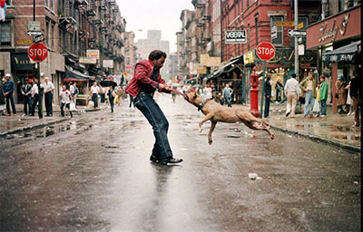 Cheryl Dunn, Everybody Street, Man And Dog 1980(c) Jamel Shabazz