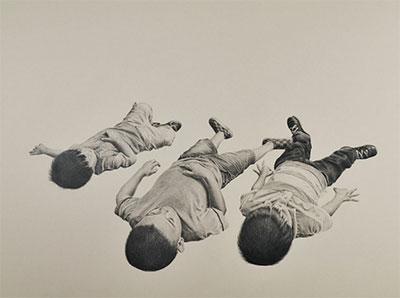 Fernando Andrade, Viendo Las Nubes, 2014. Courtesy Blue Star Contemporary