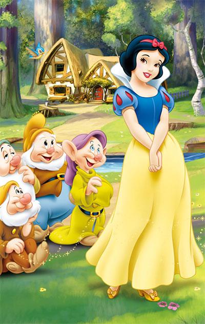 Disney's Snow White.