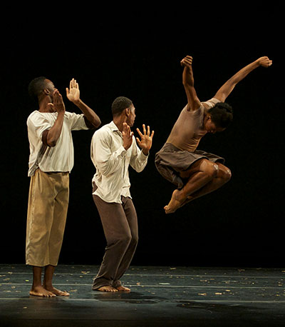 Dallas Black Dance Theatre in Dianne McIntyre's A Boundless Journey. Photo by Jaime Truman.