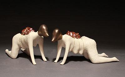 Jessica Kreutter, Dog women and their burdens. Courtesy the artist.