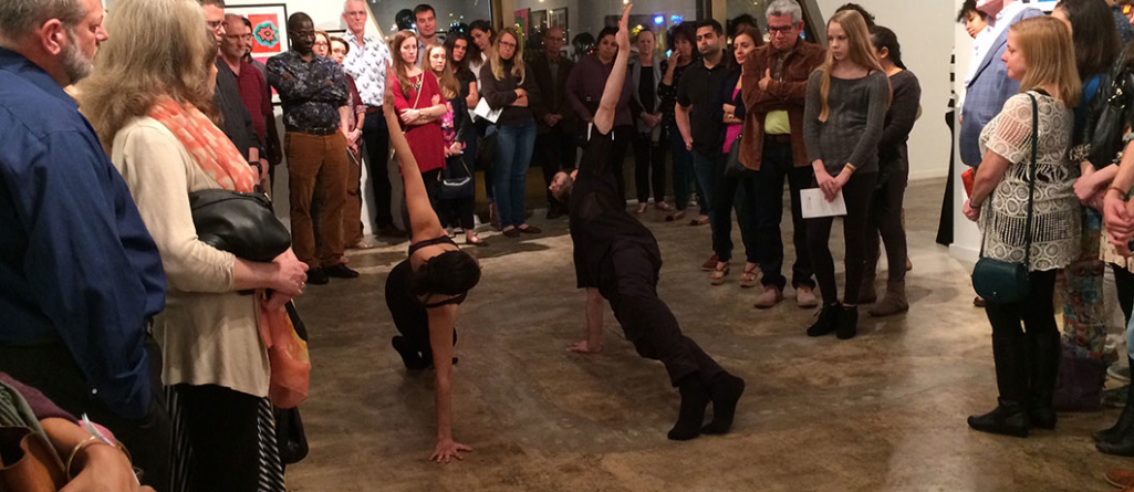 Dances in a Gallery + People