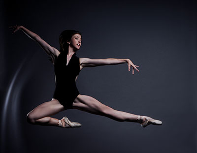 Juliann Hyde of Avant Chamber Ballet. Photo by Brian Guilliaux.