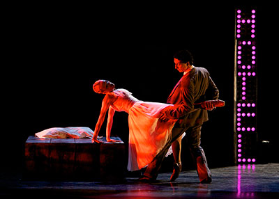Rubi Pronk and Drew Jacoby premiered Annabelle Lopez Ochoa's One at Dance Salad in 2008. Photo by Amitava Sarkar