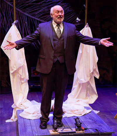 James Belcher in Stupid F##king Bird at Stages Repertory Theatre. Photo by Bruce Bennett.