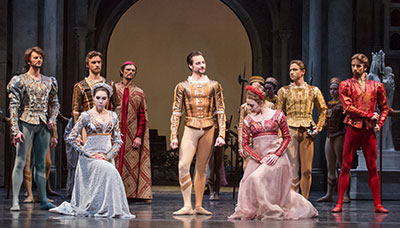 Artists Of Houston Ballet In Stanton Welchu0027s Romeo And Juliet. Photo By  Amitava Sarkar.