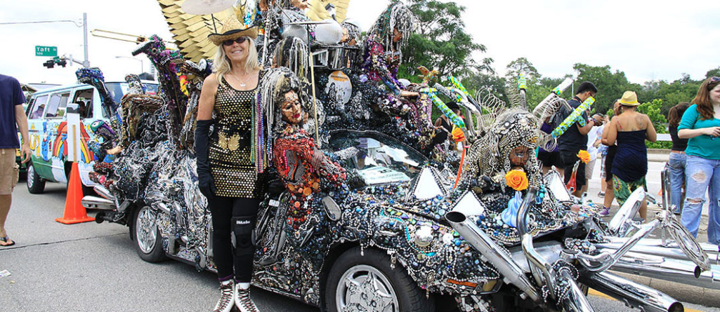 Houston Art Car Parade Brings Out Students' Creative Sides