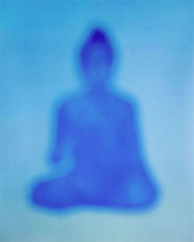 Bill Armstrong, Buddha 711, 2013, Chromogenic print mounted on Sintra, 24 x 19 3/4 inches, Edition 3 of 10, Courtesy of Artist and Robischon Gallery (Denver, CO)